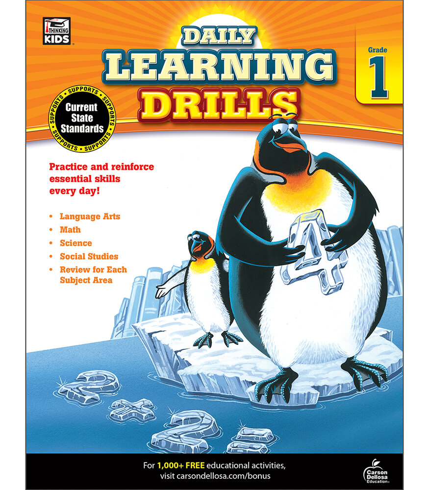 Daily Learning Drills Workbook