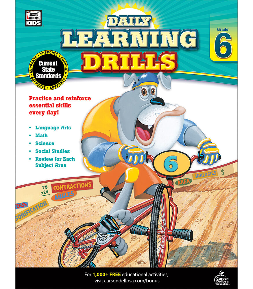Daily Learning Drills Workbook Product Image