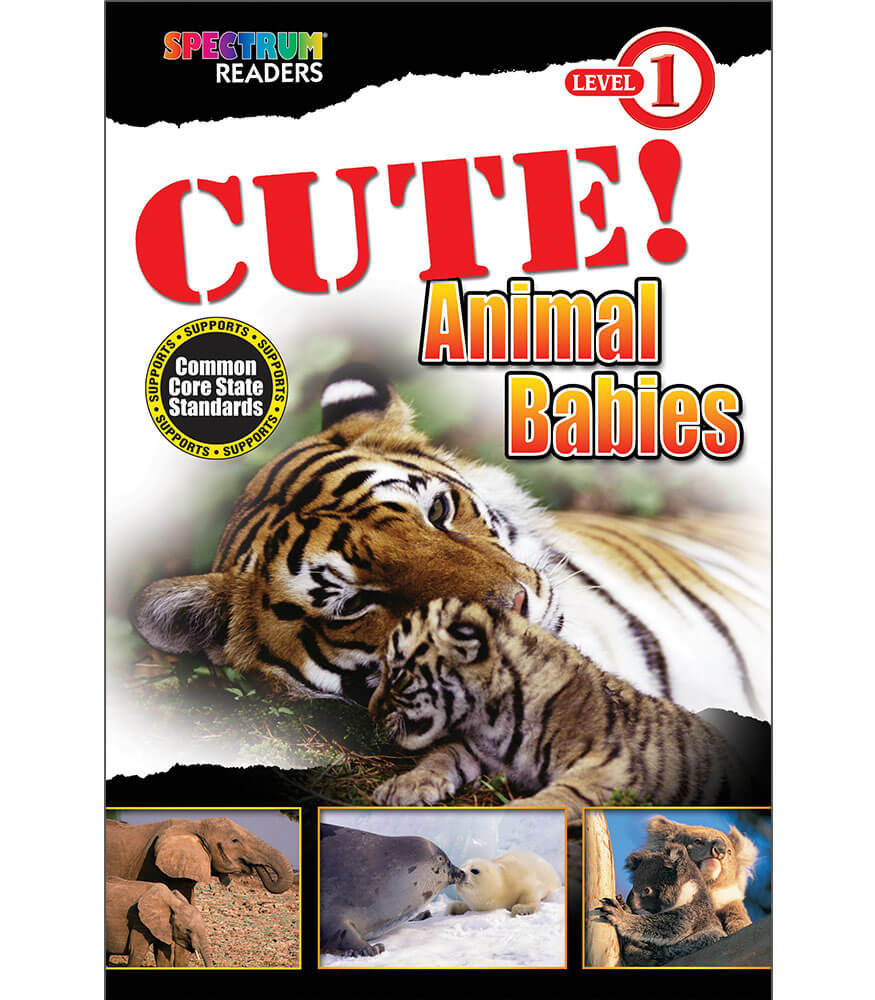 CUTE! Animal Babies Reader Product Image