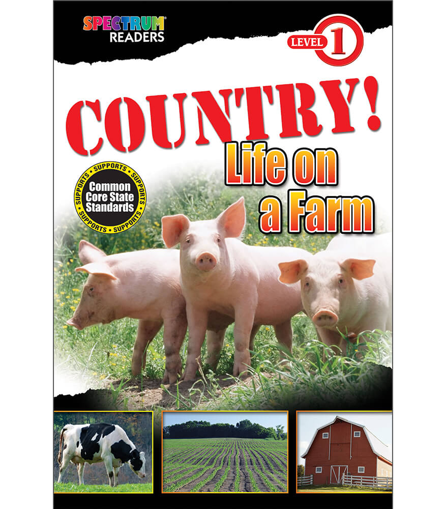COUNTRY! Life on a Farm Reader Product Image