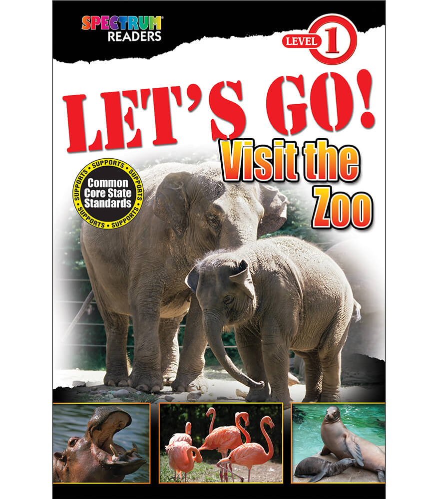 LET'S GO! Visit the Zoo Reader Product Image
