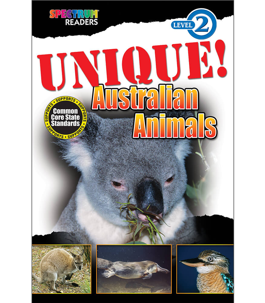 UNIQUE! Australian Animals Reader Product Image