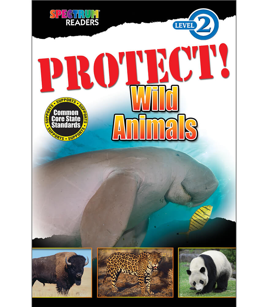 PROTECT! Wild Animals Reader Product Image