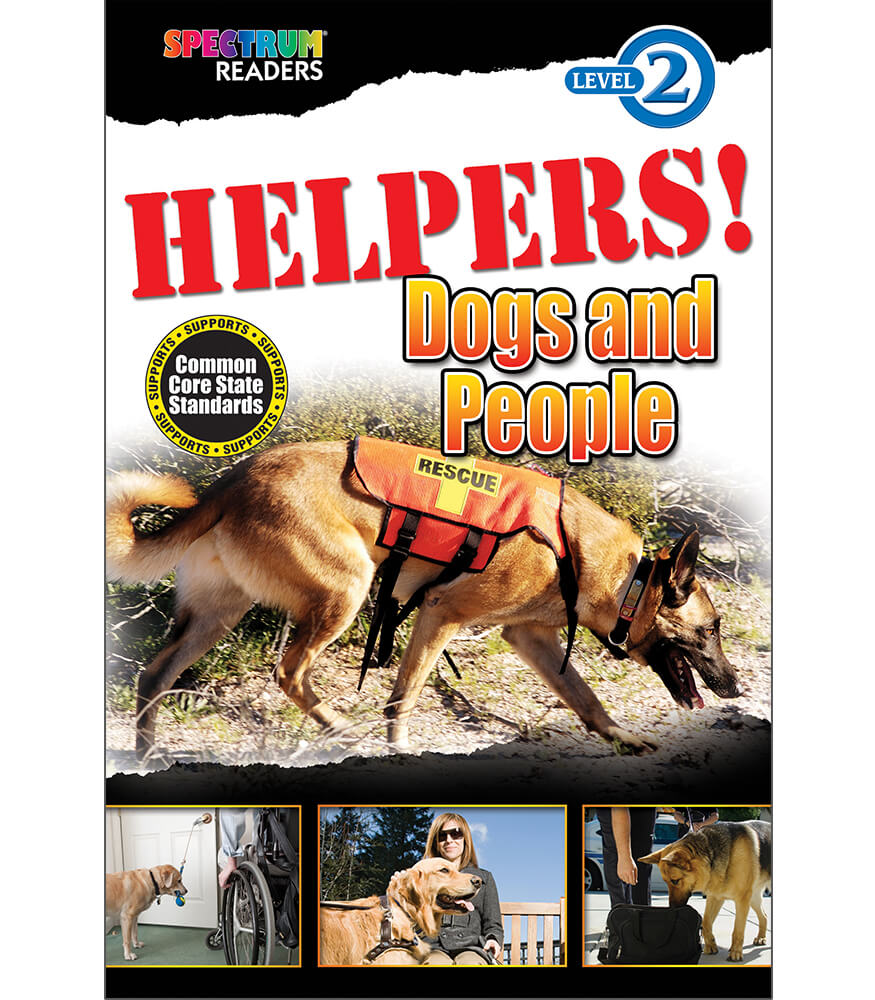HELPERS! Dogs and People Reader Product Image