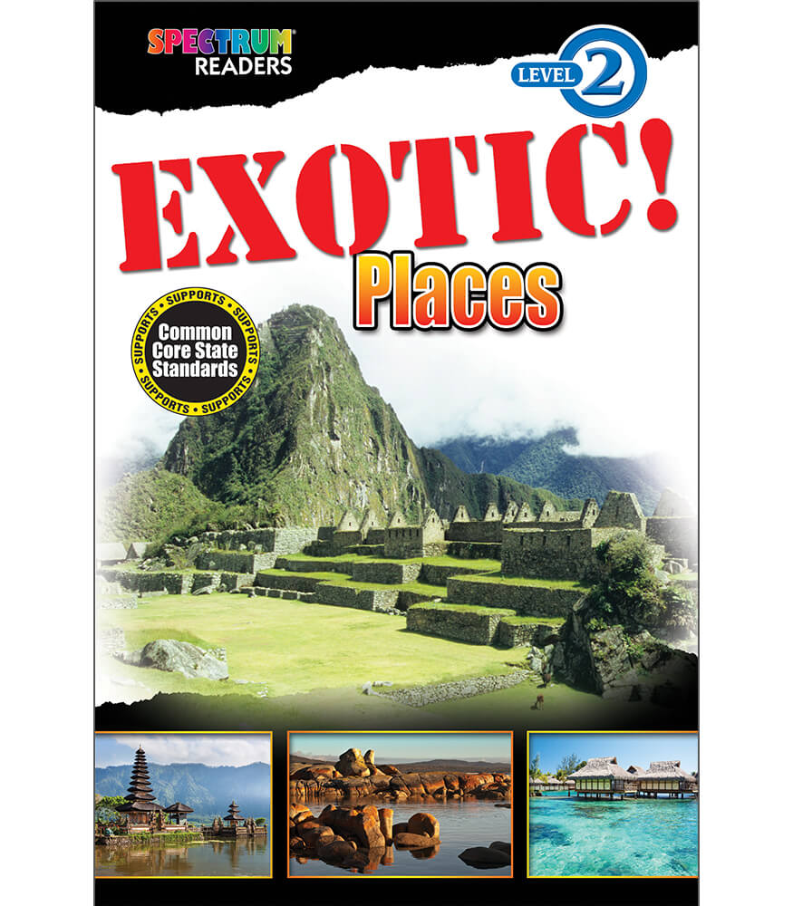 EXOTIC! Places Reader Product Image