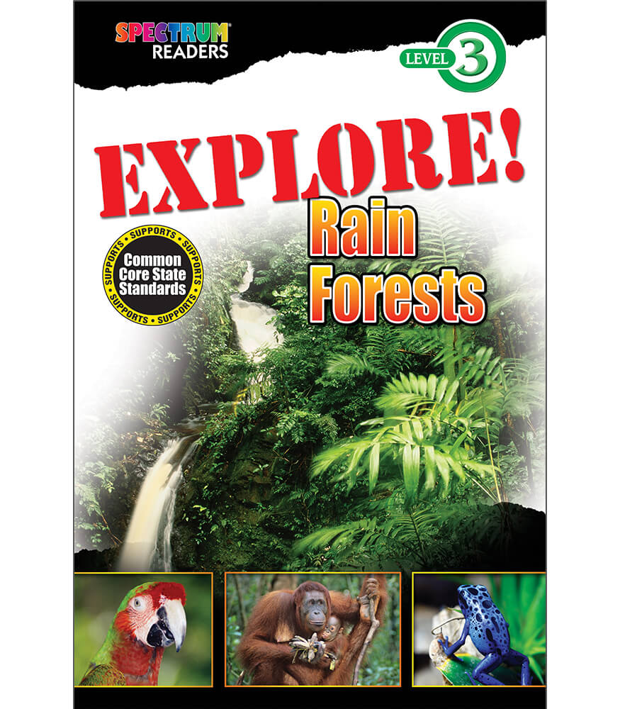 EXPLORE! Rain Forests Reader Product Image
