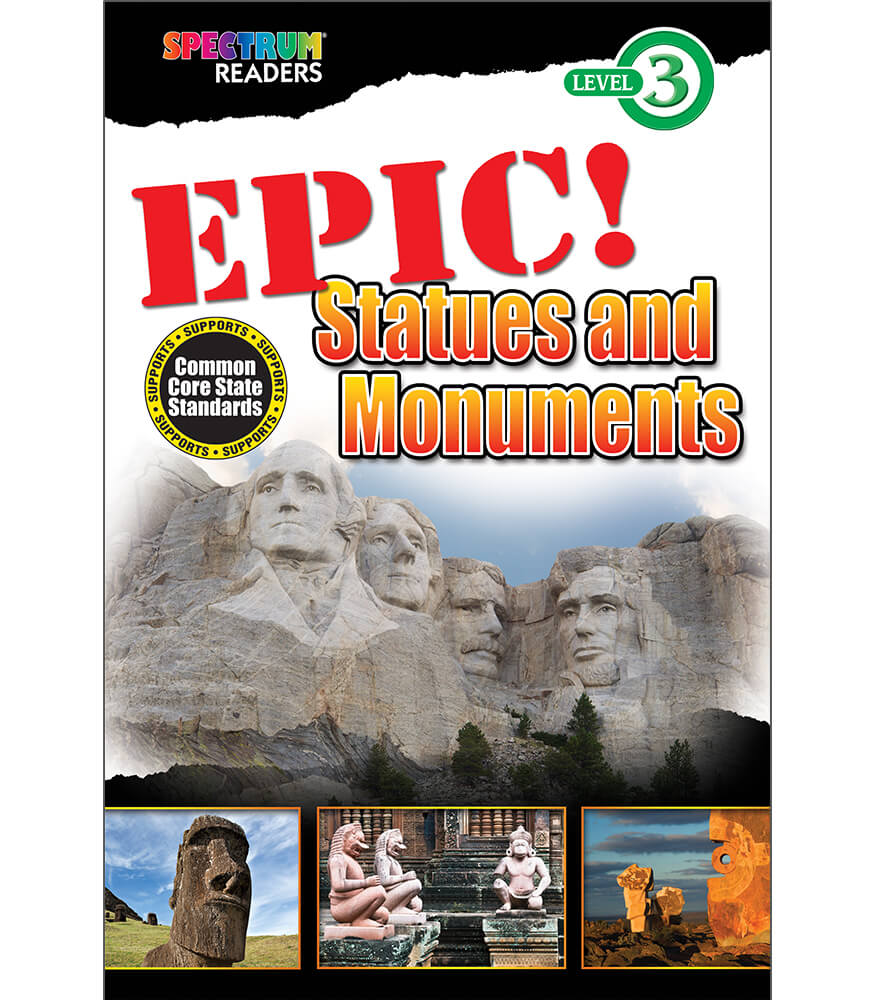EPIC! Statues and Monuments Reader Product Image