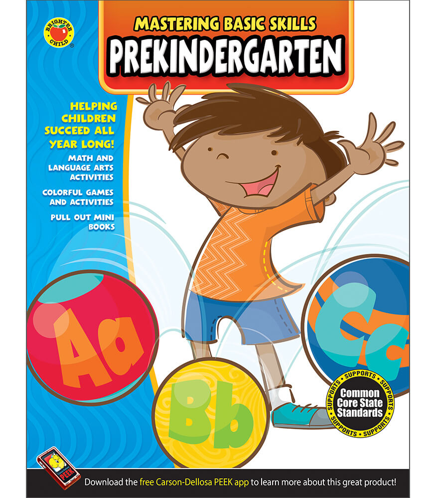 Mastering Basic Skills® PreKindergarten Activity Book Grade PK