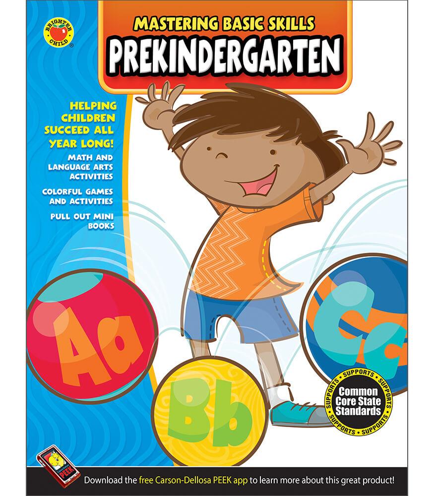 Mastering Basic Skills® PreKindergarten Activity Book Product Image