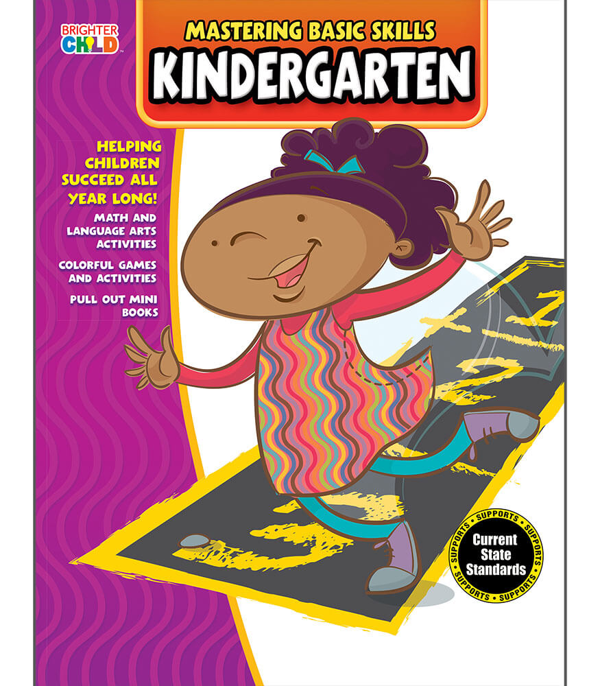 Mastering Basic Skills® Kindergarten Activity Book Grade K