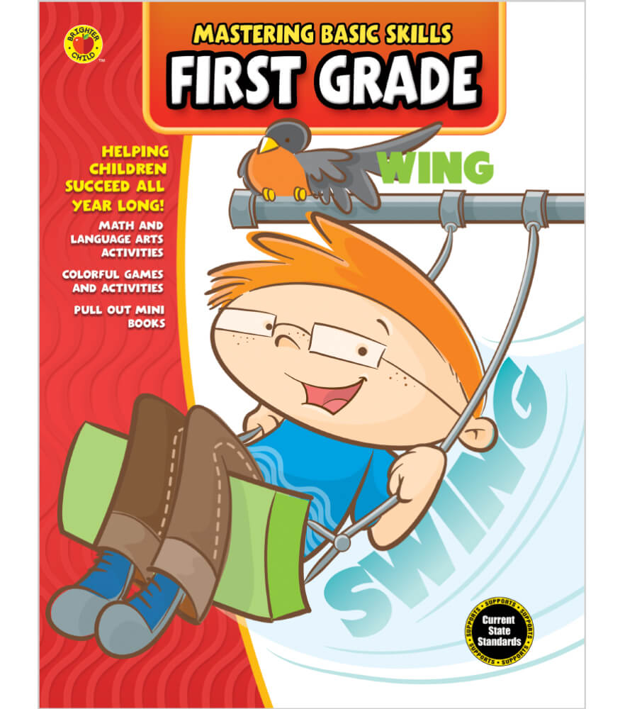Mastering Basic Skills® First Grade Activity Book Product Image