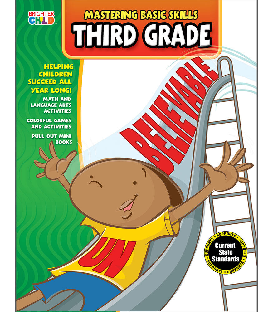 Mastering Basic Skills® Third Grade Activity Book Product Image