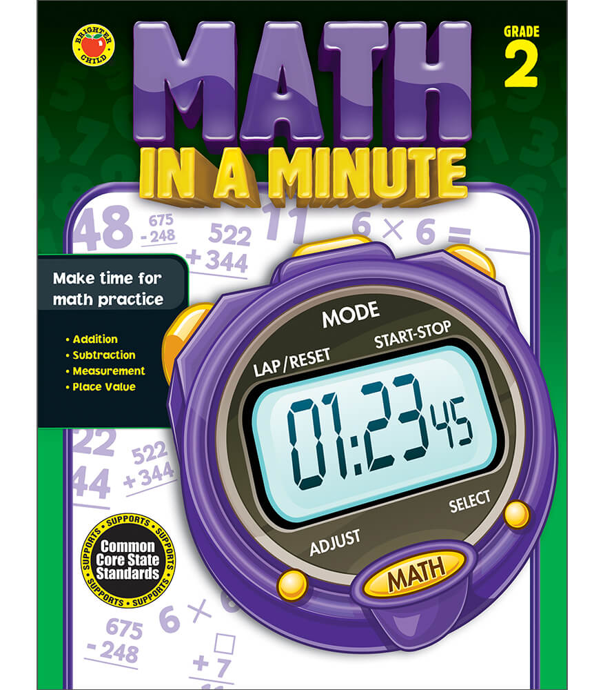Math in a Minute Workbook