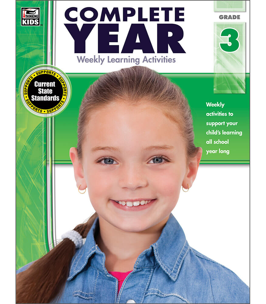 Complete Year Workbook Product Image
