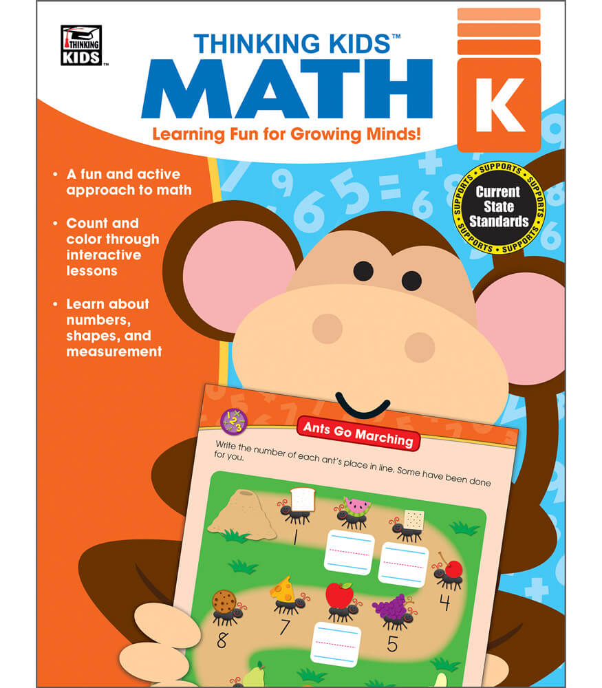 thinking kids' math resource book grade k