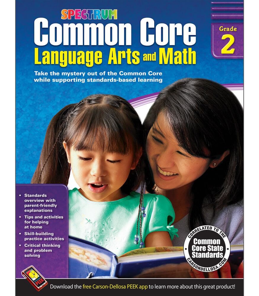 Common Core Language Arts and Math Resource Book Product Image