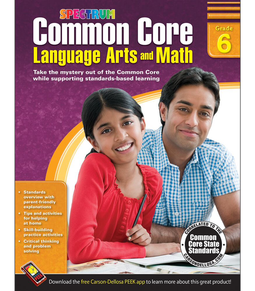Language In 45 And 47 Stella Street: Common Core Language Arts And Math Resource Book Grade 6