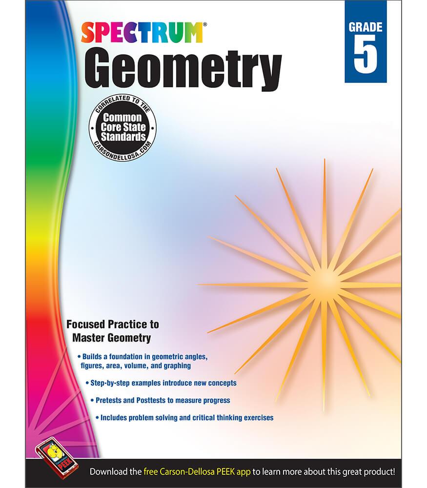 Spectrum Geometry Workbook Product Image