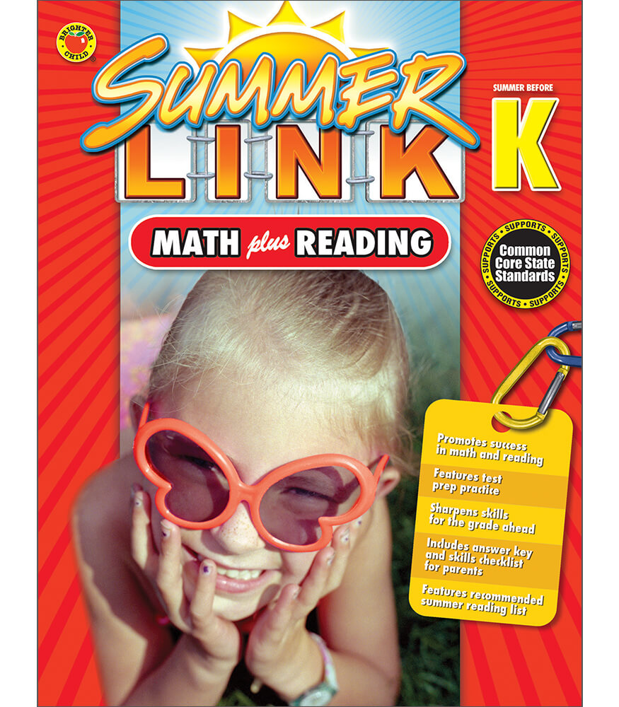 Summer Link: Math plus Reading Workbook Product Image