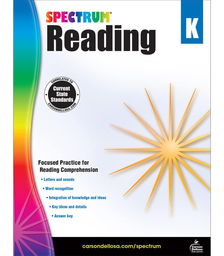 Spectrum Reading Workbook Product Image