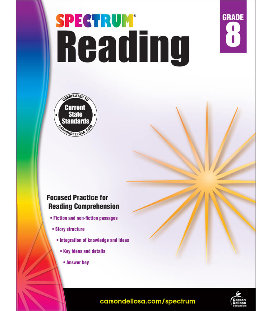 Spectrum Reading Workbook Product Image