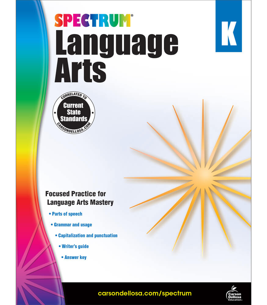 Spectrum Language Arts Workbook Product Image