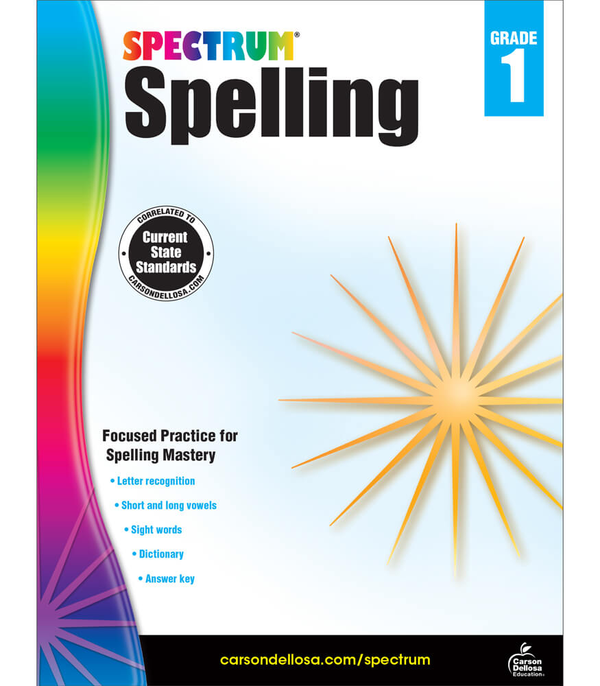Spectrum Spelling Workbook Product Image