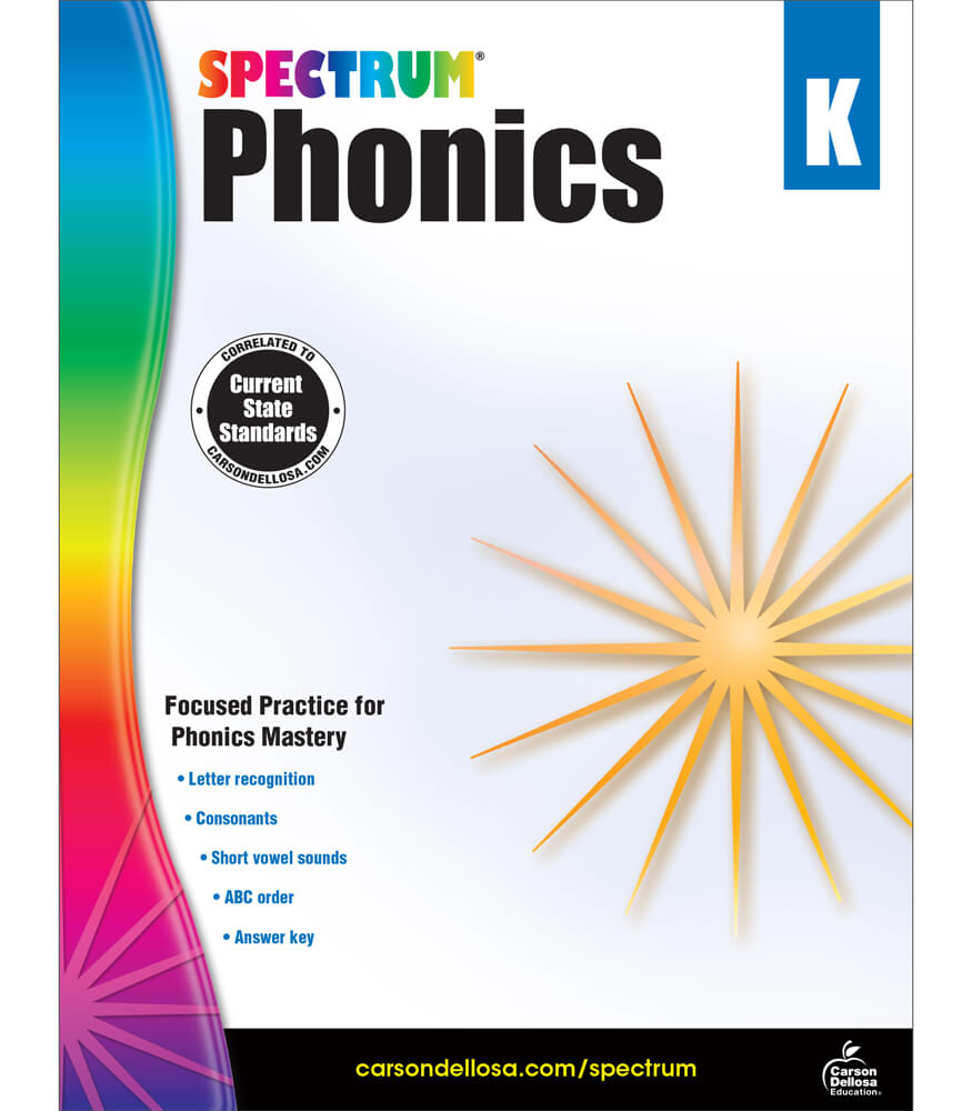 Spectrum Phonics Workbook Product Image