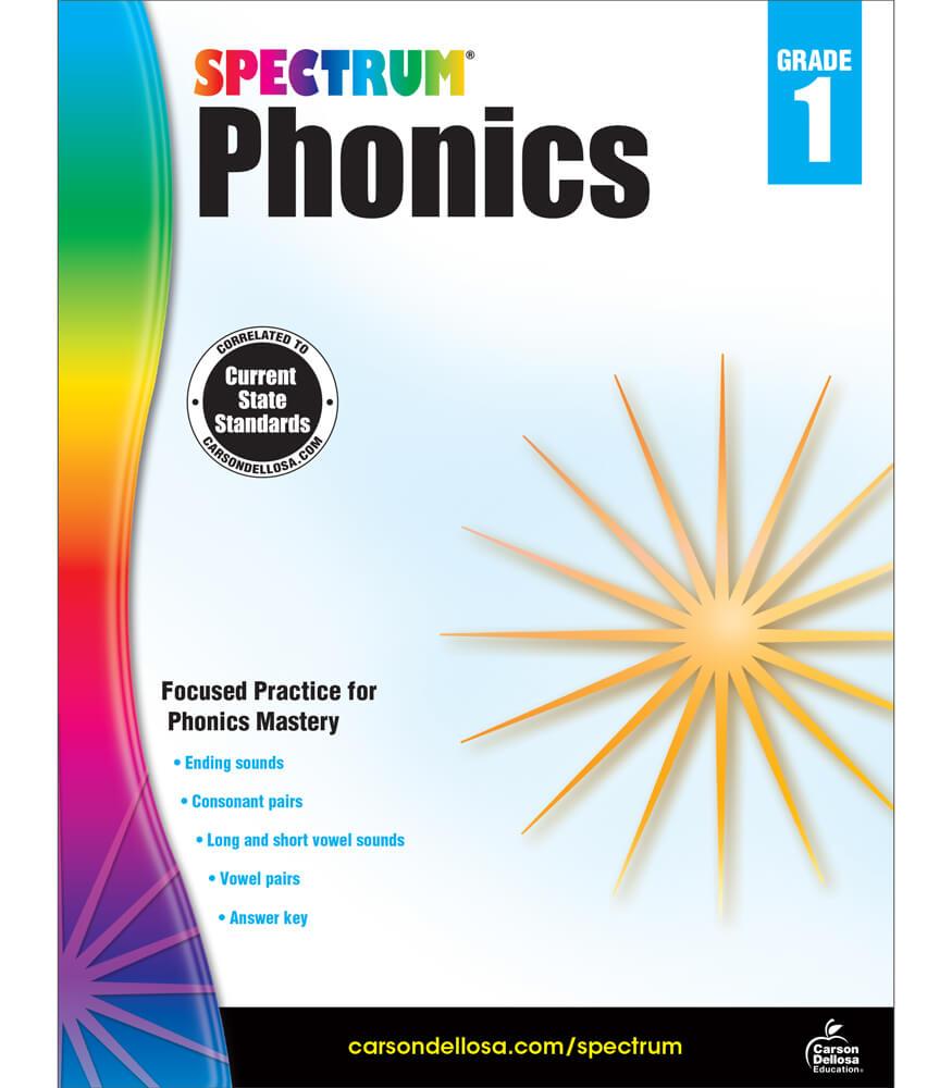 Spectrum Phonics Workbook Product Image