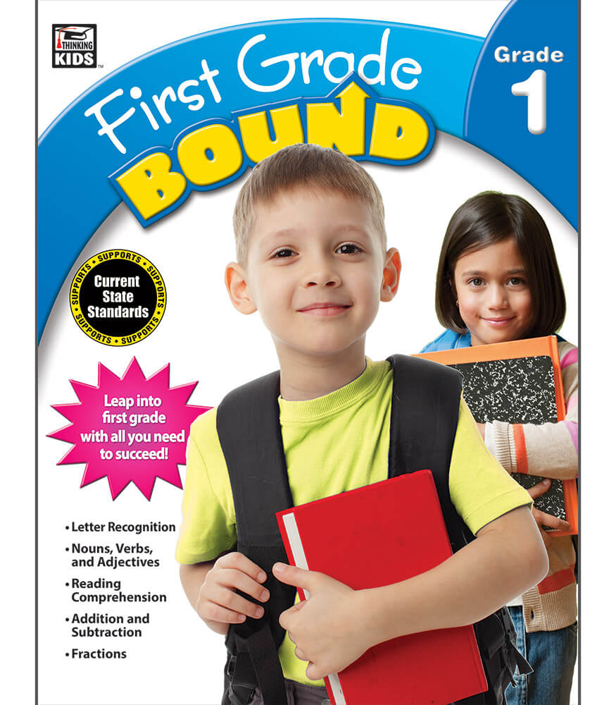 First Grade Bound Workbook Product Image