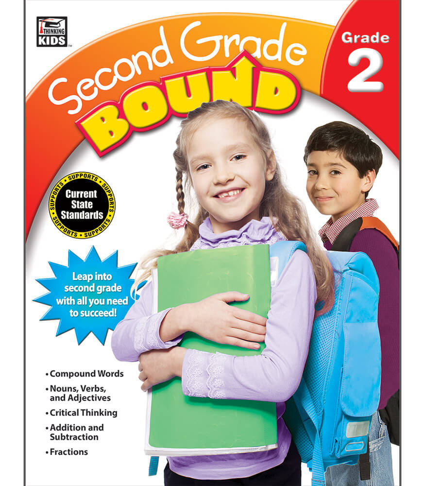 Second Grade Bound Workbook Product Image