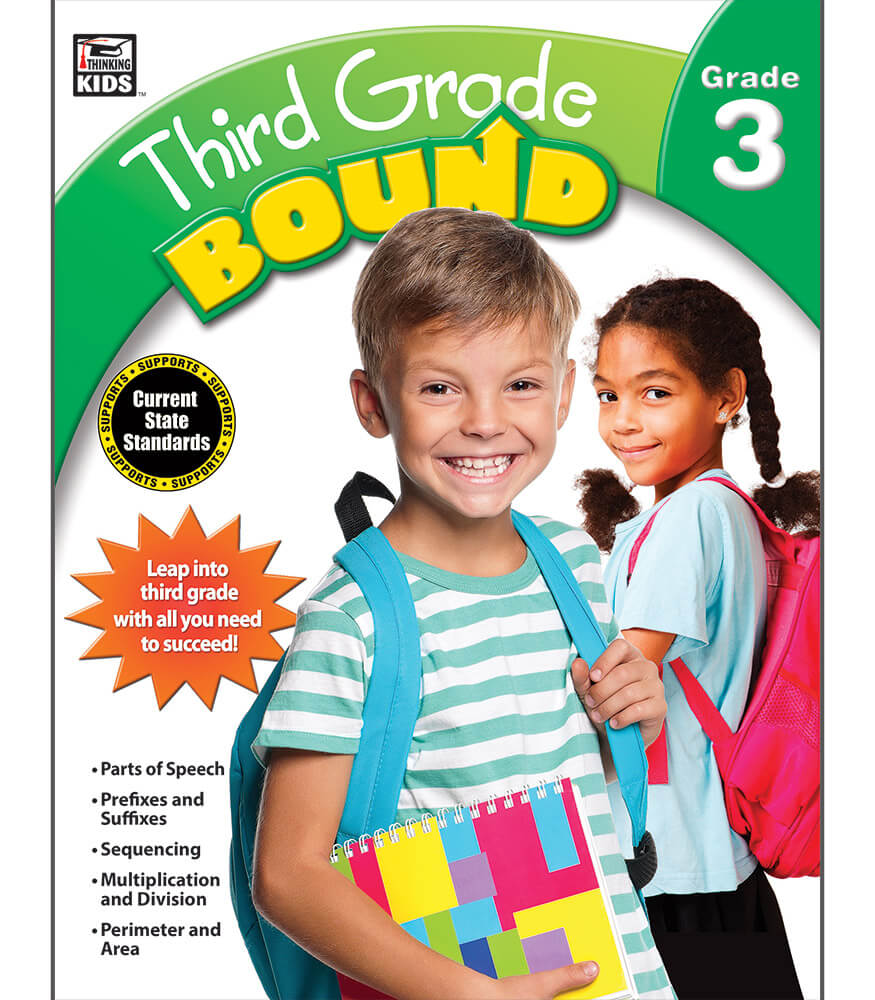 Third Grade Bound Workbook Product Image