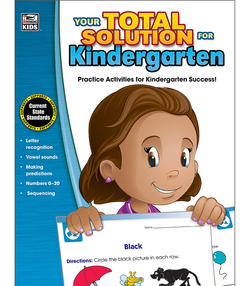 Your Total Solution for Kindergarten Workbook Product Image