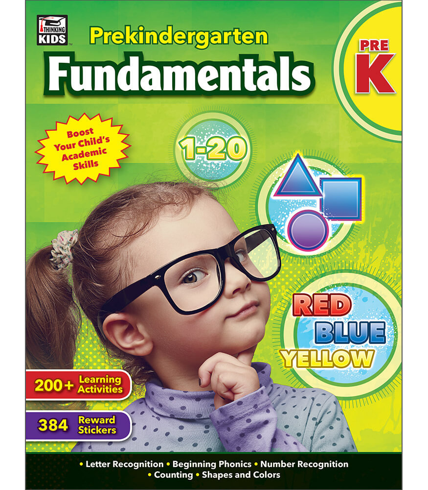 Prekindergarten Fundamentals Workbook Product Image