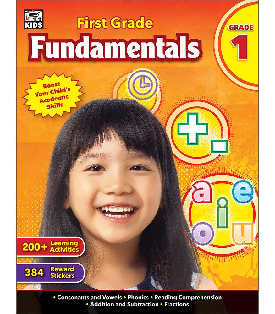 First Grade Fundamentals Workbook Product Image