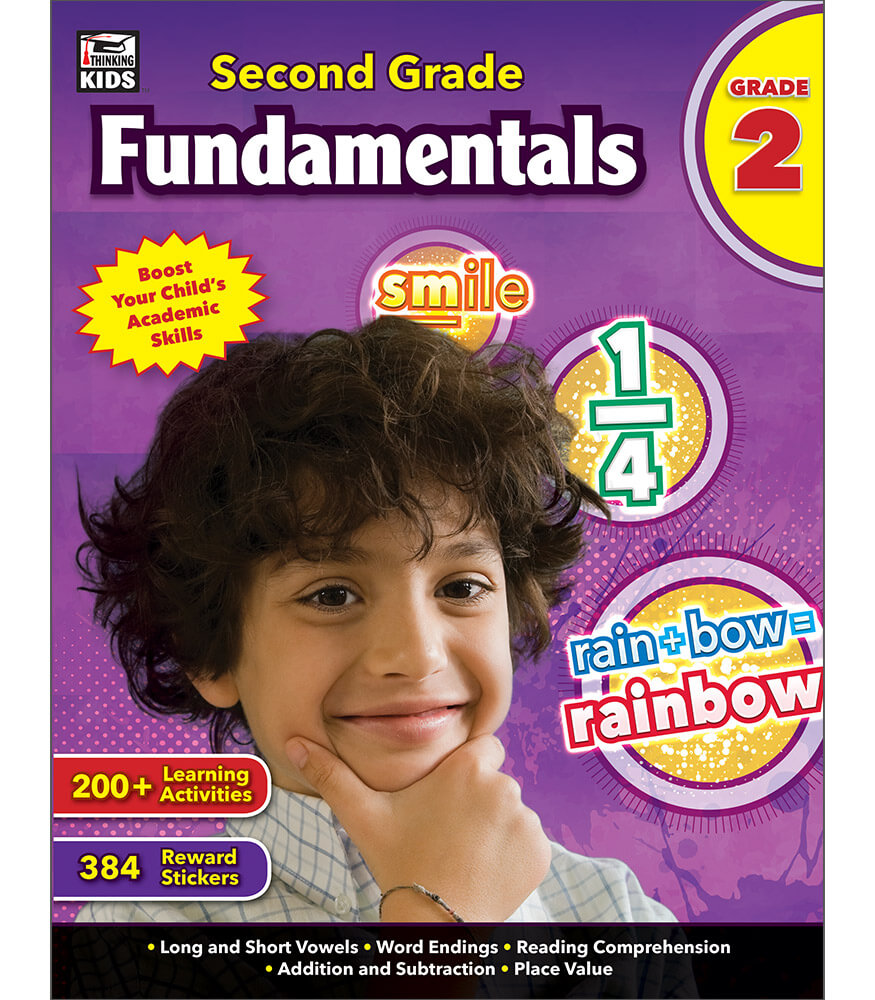 Second Grade Fundamentals Workbook Product Image