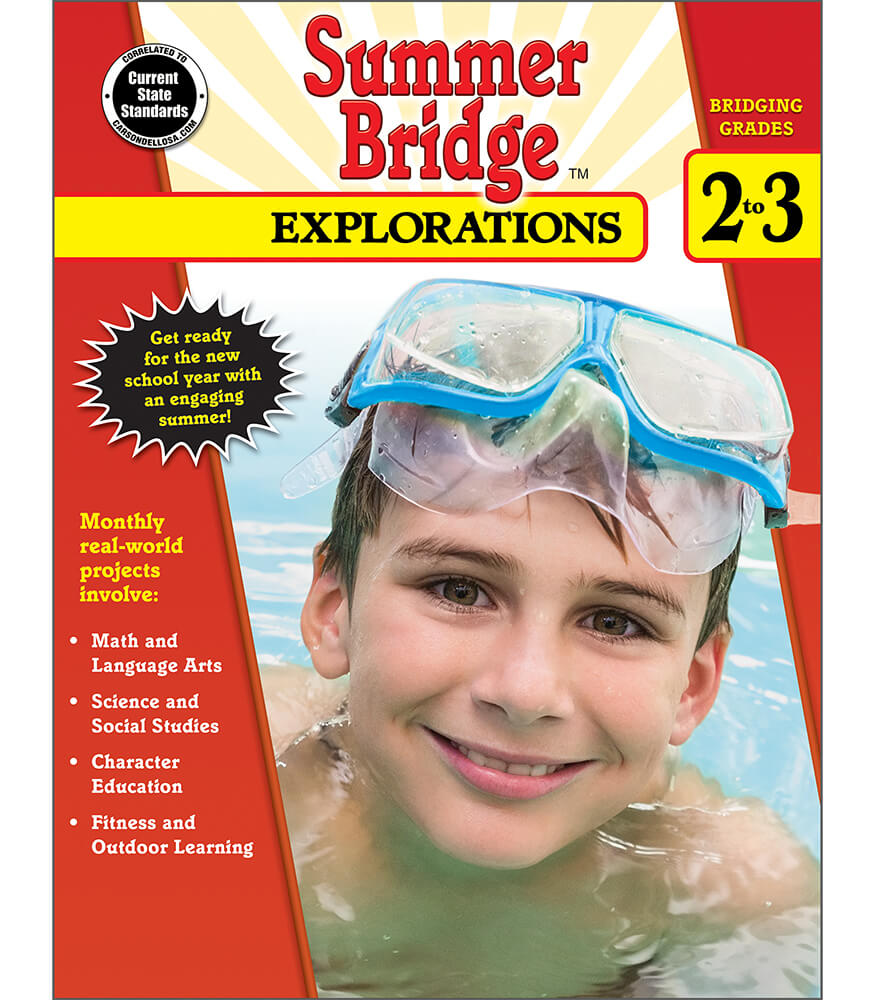 Summer Bridge Explorations Workbook Product Image