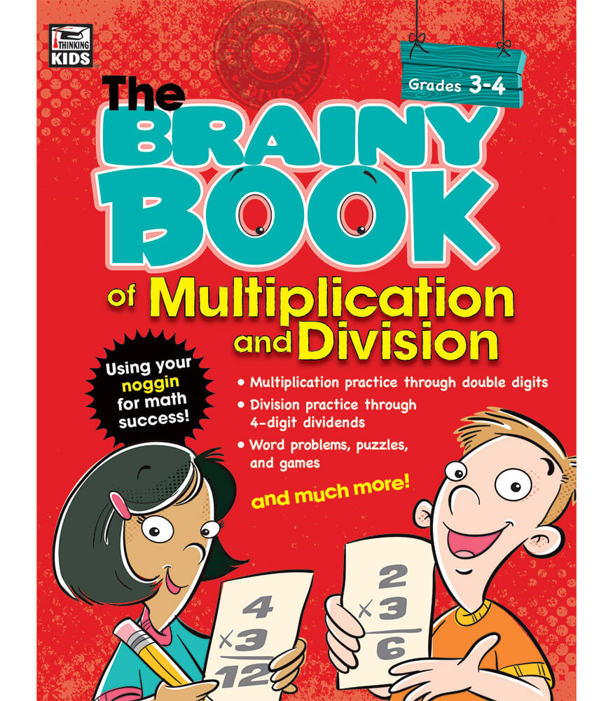 Brainy Book of Multiplication and Division Workbook Product Image