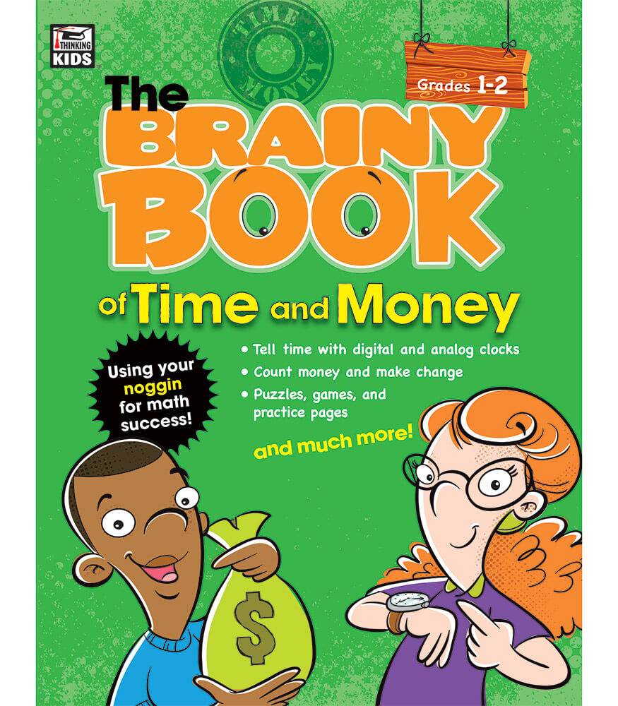 Brainy Book of Time and Money Workbook Product Image