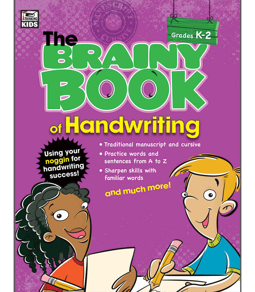 Brainy Book of Handwriting Workbook Product Image