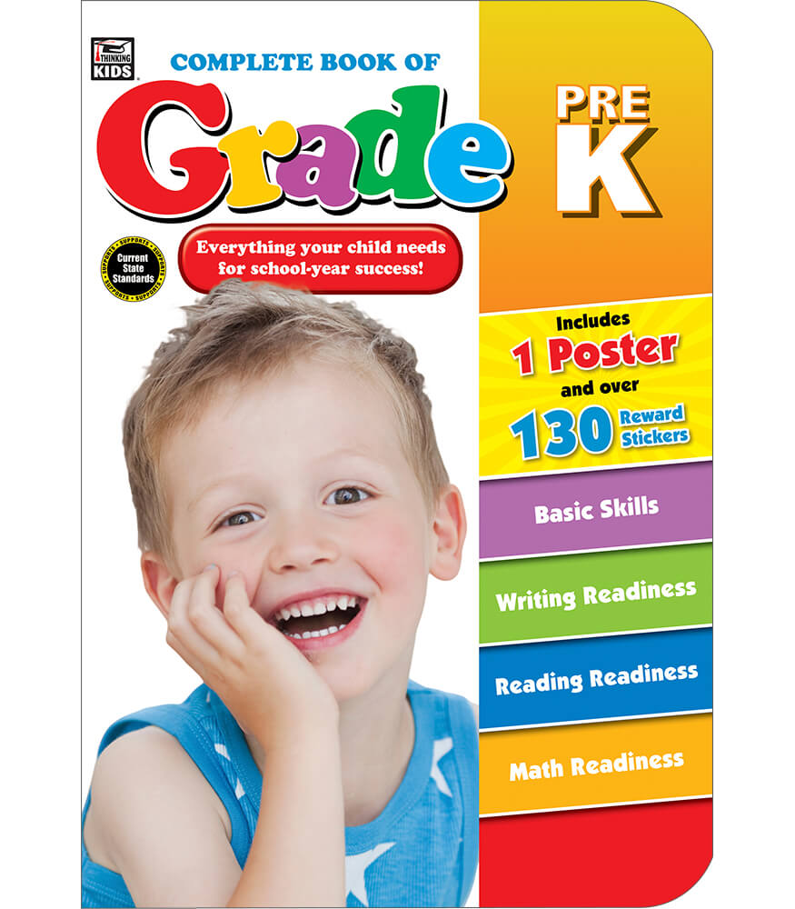 Workbooks prek workbooks : Complete Book of PreK Workbook Grade PK | Carson-Dellosa Publishing