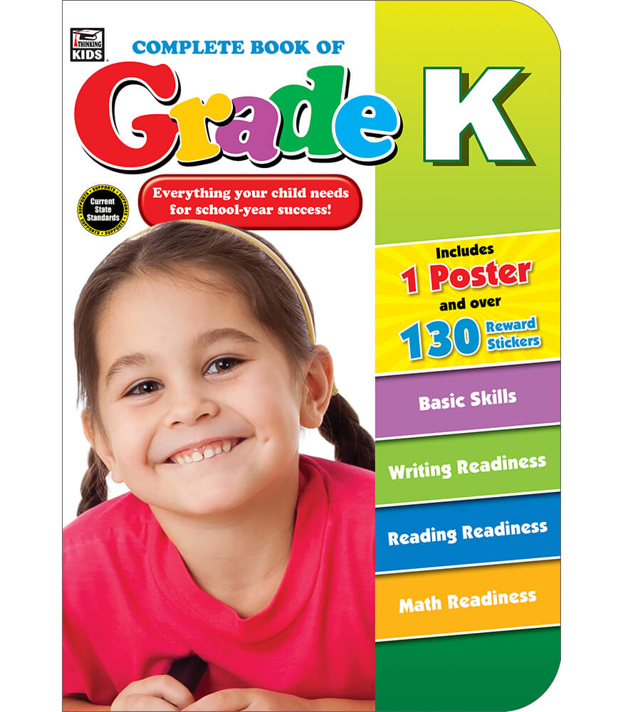 Complete Book of Grade K Workbook Product Image