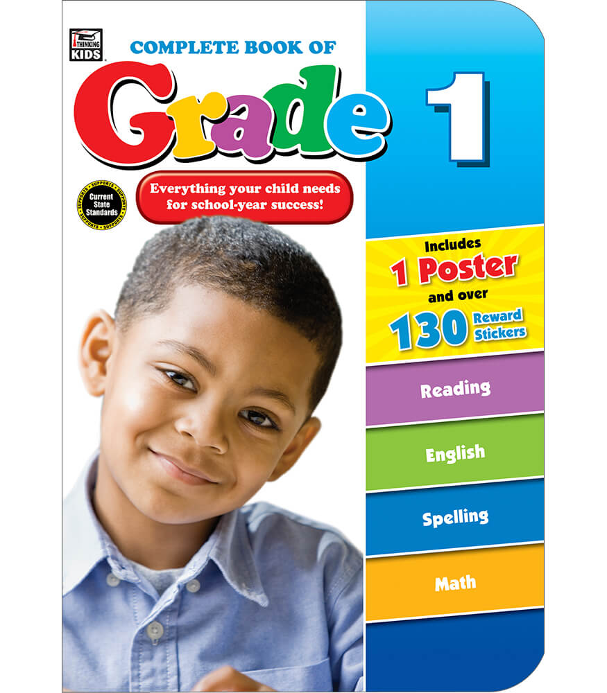 Complete Book of Grade 1 Workbook Product Image