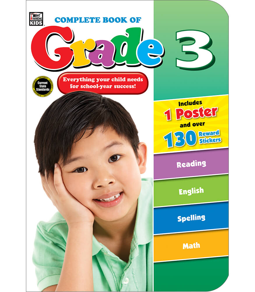 Complete Book of Grade 3 Workbook Product Image