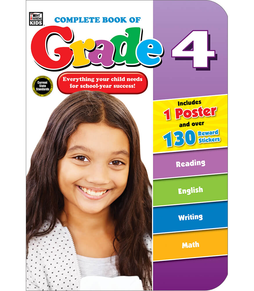 Complete Book of Grade 4 Workbook Product Image