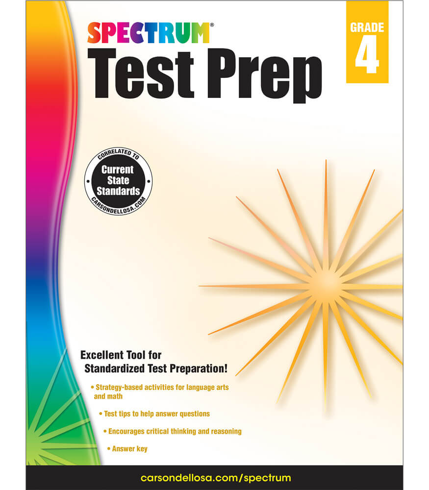 Spectrum Test Prep Workbook