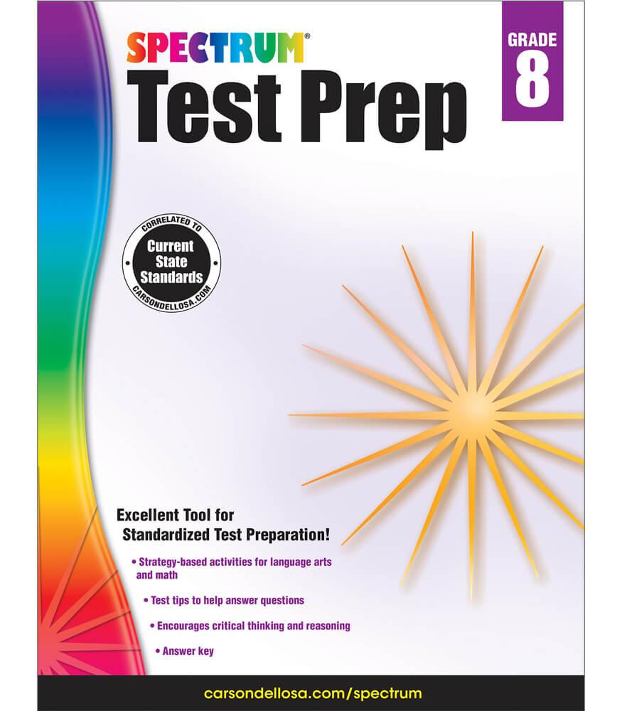 Spectrum Test Prep Workbook Product Image