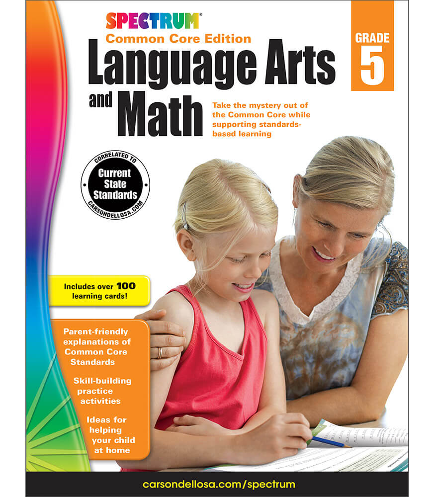 Spectrum Language Arts and Math Workbook Product Image