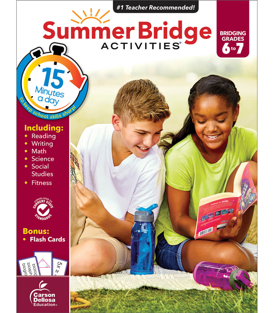 Summer Bridge Activities® Workbook Grade 6-7 | Carson-Dellosa ...
