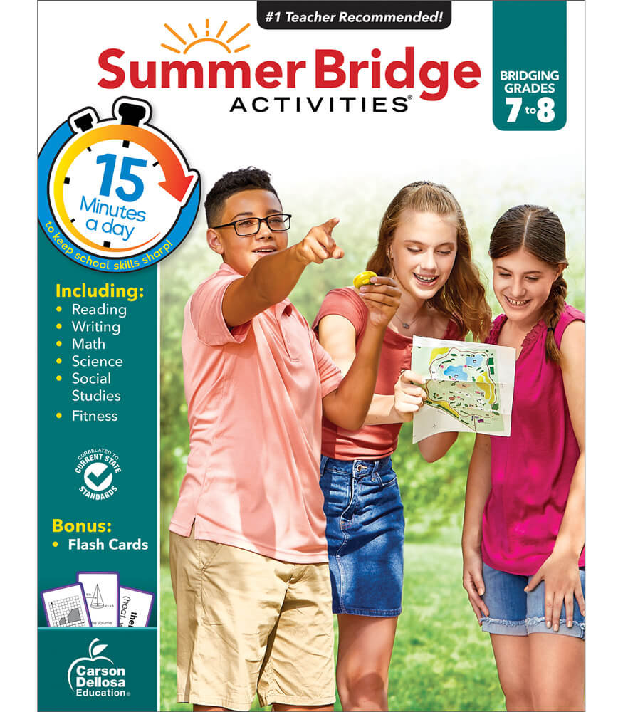 Summer Bridge Activities® Workbook Grade 7-8